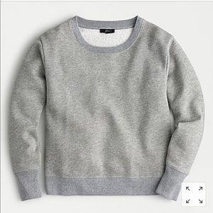 Lurex gray & silver sweatshirt